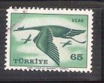 Sellos de Asia - Turquía -  simbolo RESERVADO