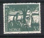 Sellos de Europa - Noruega -  Edward Munch RESERVADO