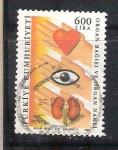 Stamps Turkey -  dona organos