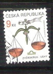 Sellos de Europa - República Checa -  libra reservado