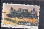 Sellos del Mundo : Oceania : Australia : locomotora