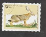 Stamps : Africa : Guinea :  Lepus crawshayi