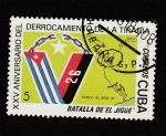 Stamps : America : Cuba :  XXV Aniv. de la batalla del Jugue