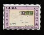 Stamps : America : Cuba :  Día del sello