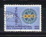 Stamps : Europe : Switzerland :  OCTI RESERVADO