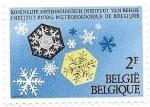 Stamps Belgium -  instituto meteorológico