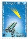 Sellos del Mundo : Europa : Bélgica :  observatorio astronómico