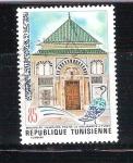 Stamps : Africa : Tunisia :  mausoleo hamouda pacha RESERVADO