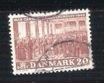 Sellos de Europa - Dinamarca -  riges grundolov RESERVADO