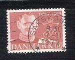 Sellos de Europa - Dinamarca -  rey olav RESERVADO