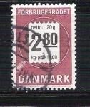 Stamps : Europe : Denmark :  correo RESERVADO
