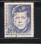 Sellos de Europa - Alemania -  Kennedy