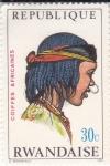 Stamps : Africa : Rwanda :  peinados africanos