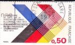 Sellos del Mundo : Europa : Francia : X anivº del tratado cooperación franco-alemán