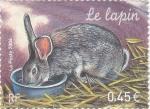 Sellos de Europa - Francia -  conejo