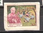 Stamps : Europe : Italy :  María Montessori RESERVADO
