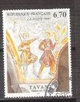 Stamps : Europe : France :  Tavani RESERVADO