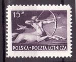 Sellos del Mundo : Europa : Polonia : Correo aéreo