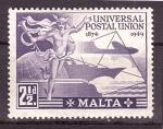 Sellos del Mundo : Europa : Malta : U.P.U.