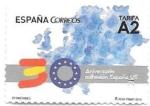Sellos de Europa - España -  30 aniversario de la adhesión a UE