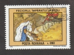 Stamps : Europe : Romania :  Cuentos infantiles