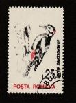 Stamps Dominican Republic -  Ave Demerocopos major