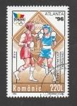 Stamps Romania -  Olimpiadas Atlanta 96