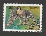 Sellos de Africa - Tanzania -  Falco peregrinus