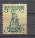 Sellos de Europa - Polonia -  escultura