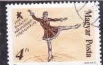 Stamps Europe - Hungary -  patinaje