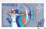 Stamps Europe - Poland -  OLIMPIADA DE MOSCÚ'80