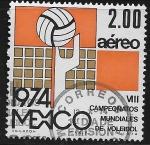 Sellos del Mundo : America : México : VIII Campeonato Mundial de Voleibol