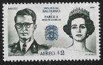 Stamps America - Mexico -  Visita de S.S.M.M. Balduino y Fabiola, Reyes de los Belgas