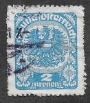 Stamps Austria -  242 - Escudo