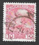 Stamps Austria -  115 - Franz Josef