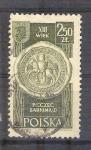 Sellos de Europa - Polonia -  escudo RESERVADO