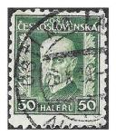 Sellos de Europa - Checoslovaquia -  116 - Tomáš Garrigue Masaryk