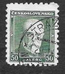 Sellos de Europa - Checoslovaquia -  168 - Tomáš Garrigue Masaryk