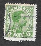Stamps Europe - Denmark -  97 - Cristián X de Dinamarca