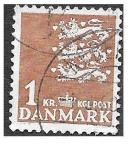 Stamps Europe - Denmark -  297 - Escudo