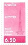 Stamps America - Brazil -  correo aéreo