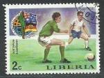 Stamps Africa - Liberia -  Futbol