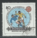 Stamps Mongolia -  Futbol