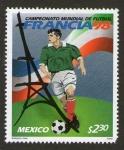 Sellos del Mundo : America : México : Mundial de futbol Francia 98
