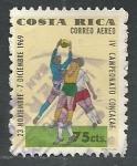 Stamps of the world : Costa Rica :  Futbol