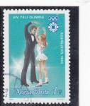 Sellos de Europa - Hungría -  OLIMPIADA SARAJEVO'84