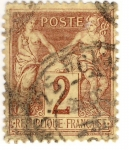 Stamps Europe - France -  Paix et Commerce