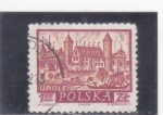 Stamps of the world : Poland :  panorámica de Opole