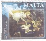 Stamps : Europe : Malta :  Navidad-1998