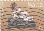 Stamps : Europe : Malta :  Navidad-2004